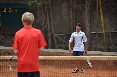 Tennis 2015 Day 2 Afternoon - Doubles