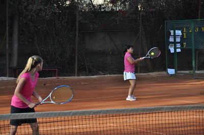 Tennis 2015 Day 3 Afternoon-Doubles